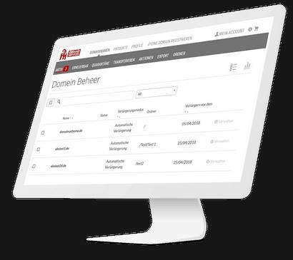 Domain Beheer Interface